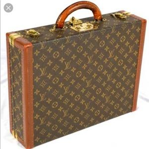 Authentic LV Hard Briefcase